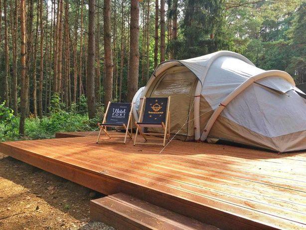 Weekend dla 2os. w pięknym BEESCAMP nad jeziorem Ukiel