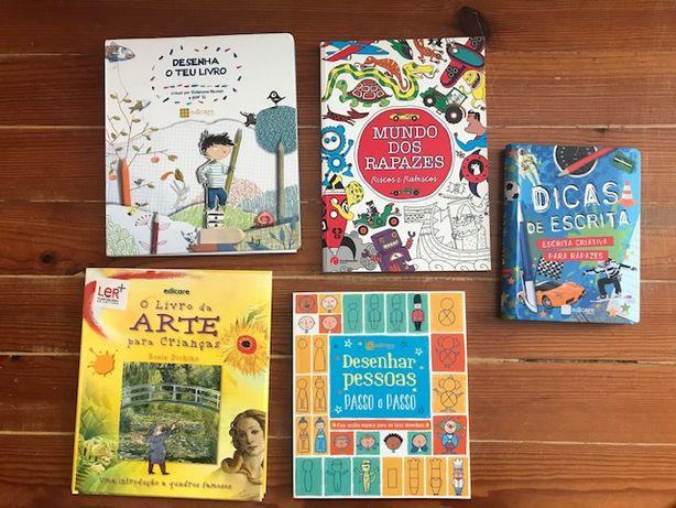 Livros de desenho e arte EDICARE
