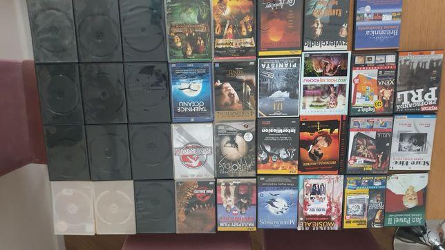 Oddam za darmo pakowania po DVD