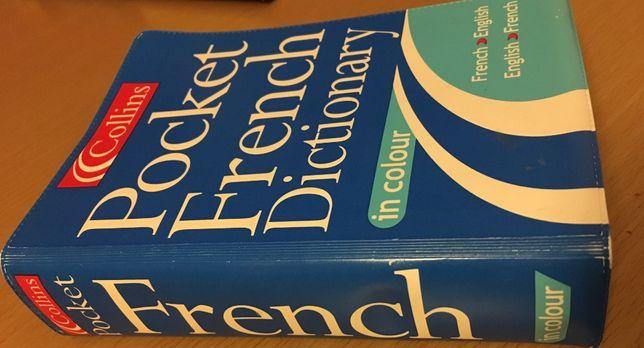 Collins. Słownik Francusko - Angielski. Pocket French Dictionary.