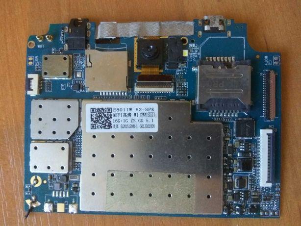 Планшет Pixus Touch 8 3G (плата, батарея, шлейф и тд.)