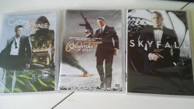 3 x DVD 007 James Bond