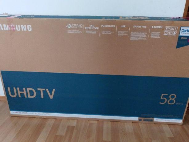 TV 58 cali SAMSUNG EU58MU6122