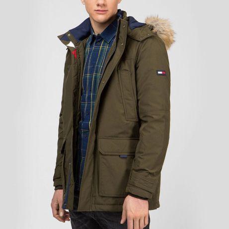Тёплая парка Tommy Hilfiger куртка