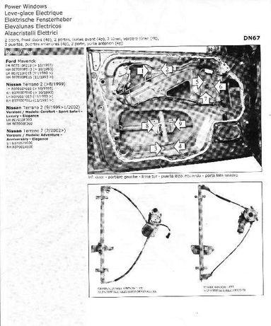 Elevadores Elétricos Nissan Terrano 2