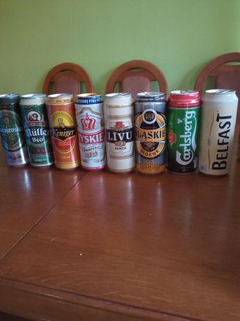 Puszki po piwie 0,5 litra