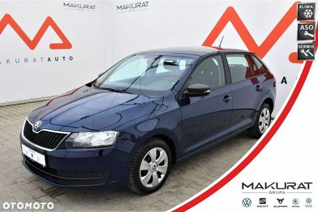 Škoda RAPID SalonPL, ASO, VAT23%, Klimatyzacja, Isofix, Bluetooth, USB, SD,
