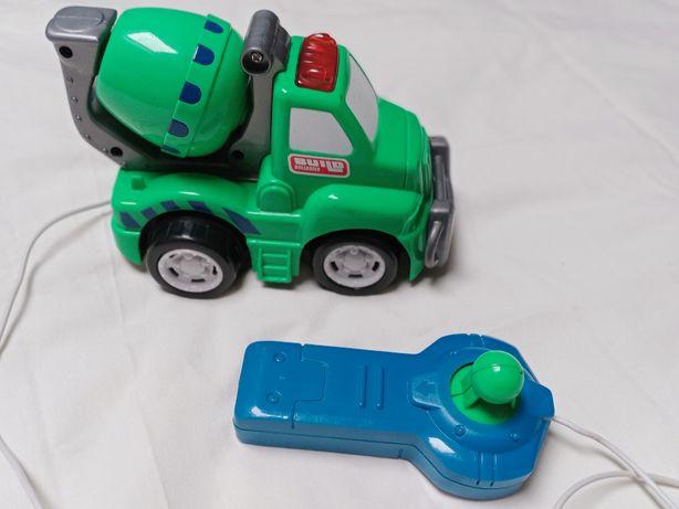 Samochodzik-sterowana betoniarka dla dzieci