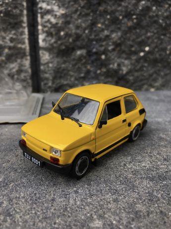 Kolekcjonerski FIAT 126P FL-auta PRL,model,autka,resoraki,kolekcja