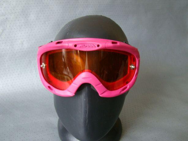 Розовая маскаочки ALPINA Оригинал класс 2-3