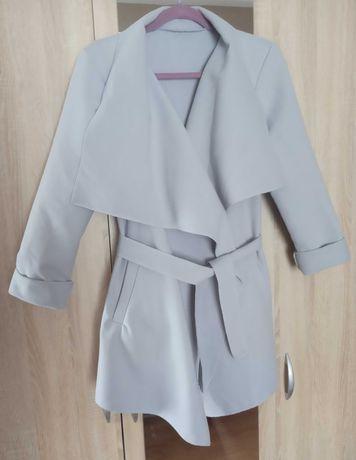 Płaszcz szlafrok damski rozmiar uniwersalny szary