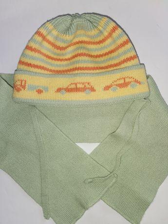 Детская шапочка ТМ Соня шарф демисезонная 53см деми шапка