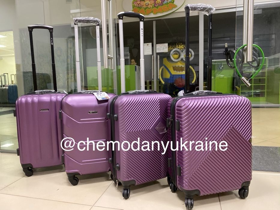 БЕСПЛАТНАЯ ДОСТАВКАПластиковый чемодан дорожный валіза пластикова Киев - изображение 1