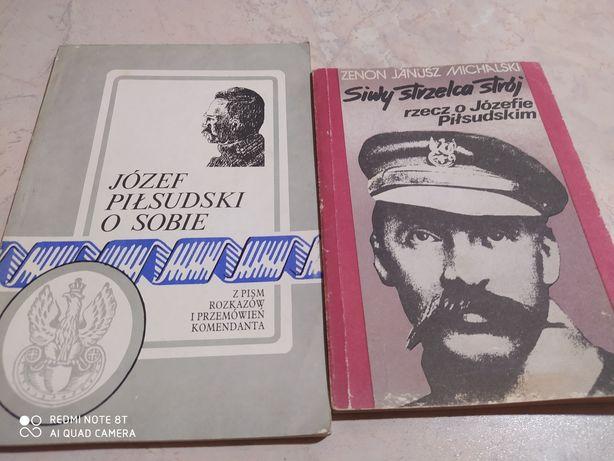 Książki Józef Piłsudski 2szt. Zestaw
