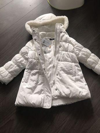 Куртка original marines белая теплая пальто