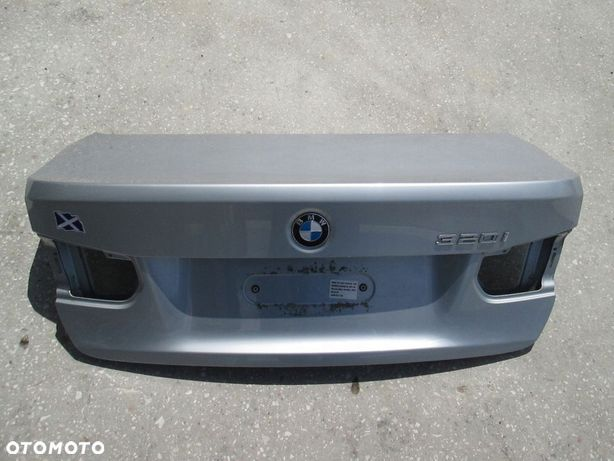 BMW F30 KLAPA BAGAŻNIKA SREBRNA A83 ORYGINAŁ LAK
