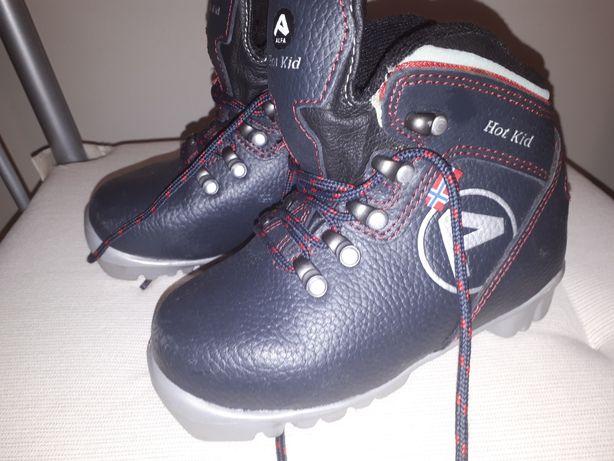 Buty narciarskie dla dziecka r 28.