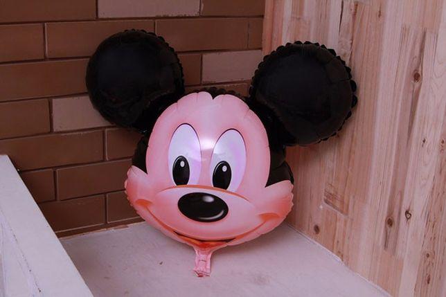 Шарики фольгированные Микки Маус, детские воздушные шары из фольги