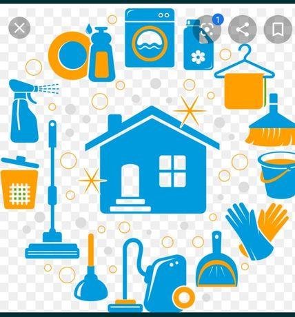 Limpezas e manutenção