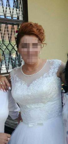Suknia ślubna + GRATISY:) rozm od 38 do 42