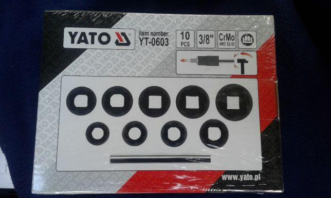 Nowy Zestaw Wykrętaków do zerwanych śrub Yato YT- 0603