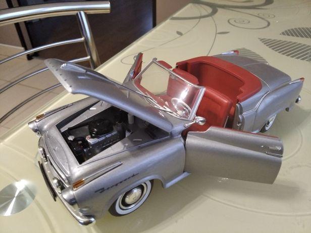 модель 1.18 Revell - Borgward Isabella