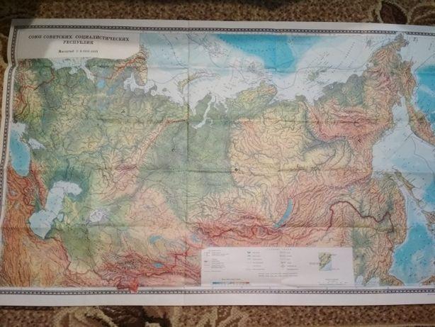 Мапа, карта СРСР
