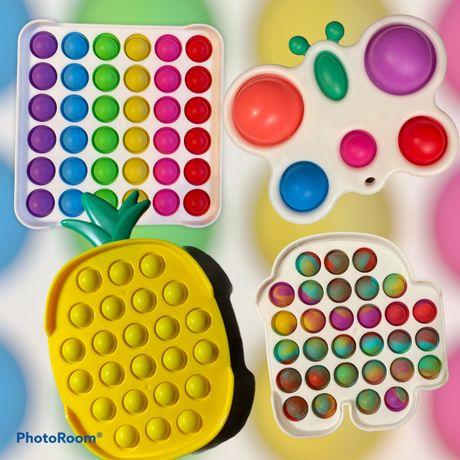 Игрушки   поп ит симпл димпл ананас,амонг ас, simple dimple оптом