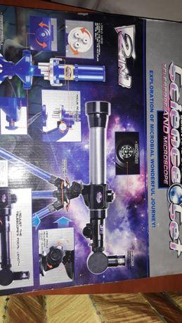 Микроскоп и телескоп детский игровой набор