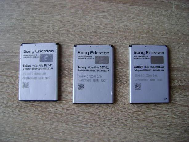 oryginal baterie do sony ericsson BST-41 litowo-polimerowe 3,6V 1500mA
