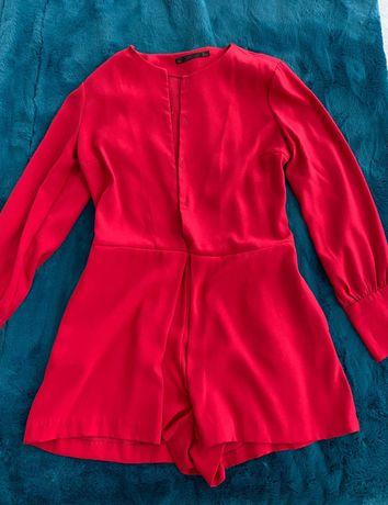 Macacão vermelho Zara 12,50€
