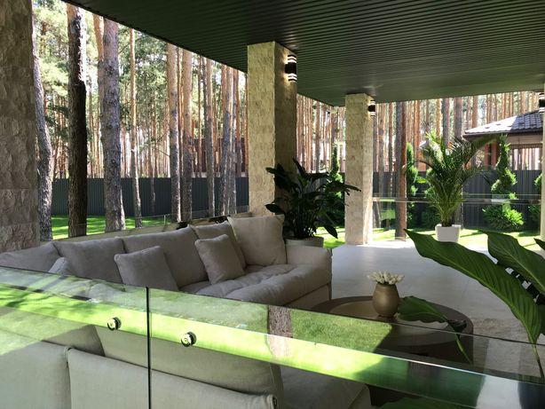 Стильный Дом по индивидуальному проекту в Лесу