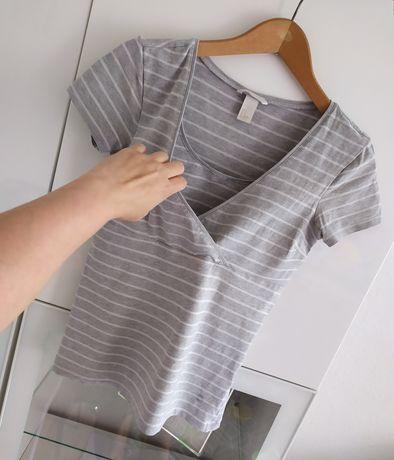 Bluzka do karmienia S H&M mama 36 ubrania odzież
