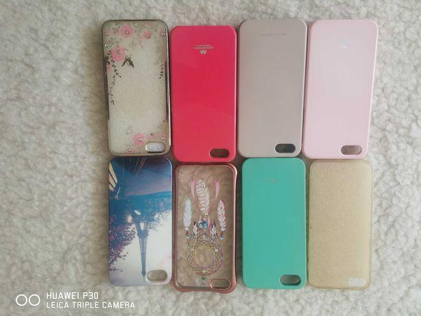 Etui iPhone 5, 5S, SE - 8 szt.