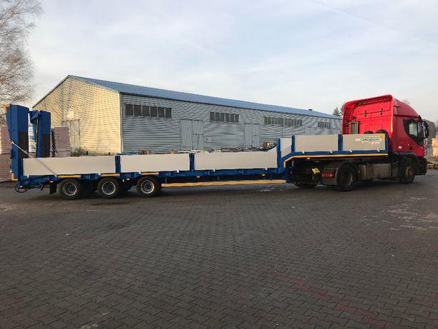 Transport HDS, wanna, 4-ośka, podczołgówka, wywrotka, niskopodwoziówka