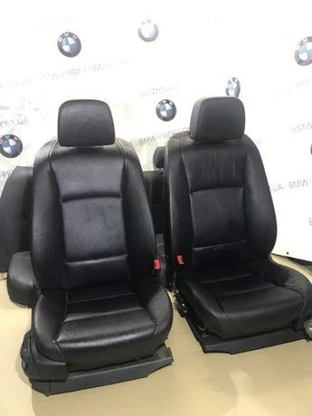 Черный кожаный салон BMW F10 передние сидения ф10 салон кожа шрот