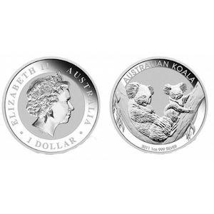 17 monet Koala 2011  1 oz Ag srebro