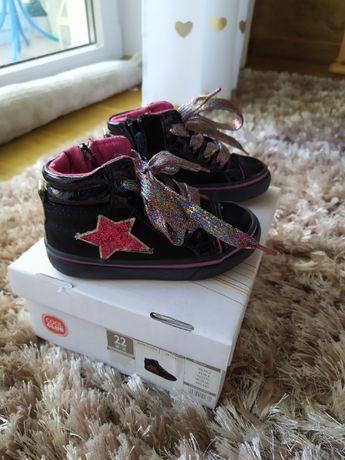 Buty sneakersy dziewczęce rozm.22 Smyk