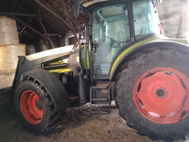 Claas Arion 430 z turem bogate wyposażenie od rolnika