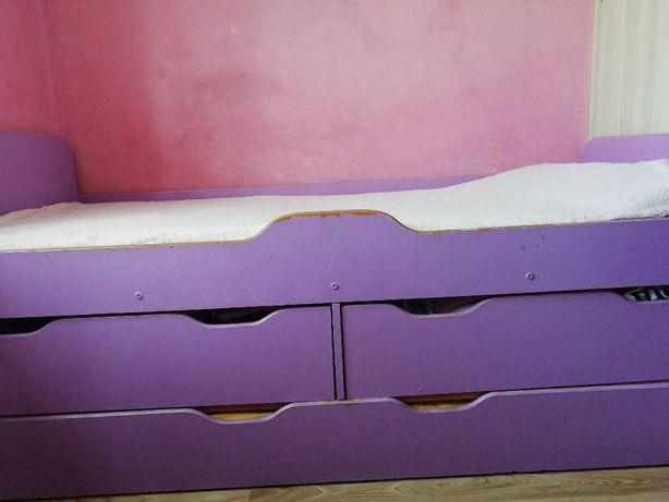 Łóżko piętrowe rozkładane