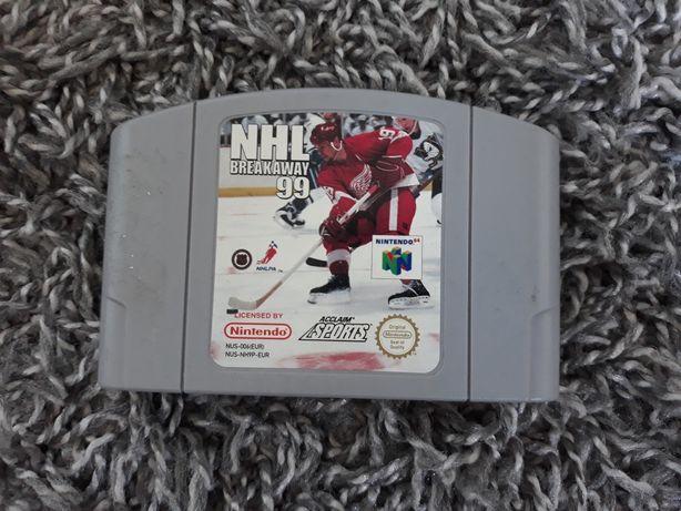 Gra NHL Breakaway '98 N64