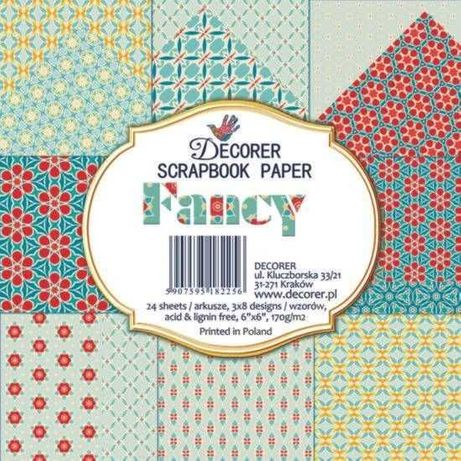 Bloco de papel Fancy scrapbooking