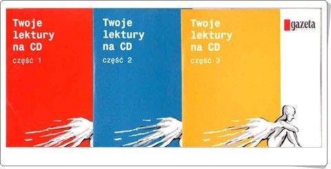 TWOJE LEKTURY NA CD cz. 1-3 omówienia lektur do słuchania na odtwarzac