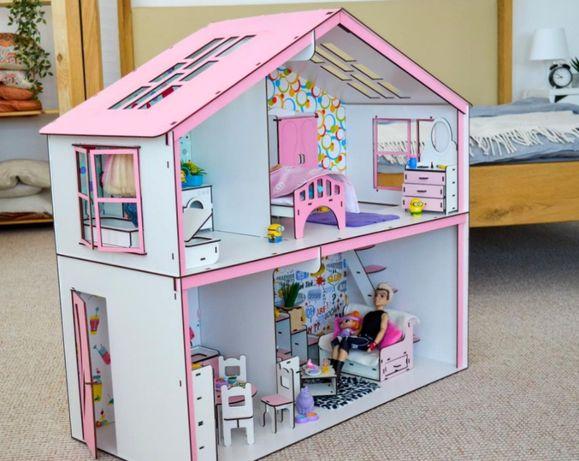 80см кукольный домик барби на/бор мебел/и тек/стиля куклы винкс лол