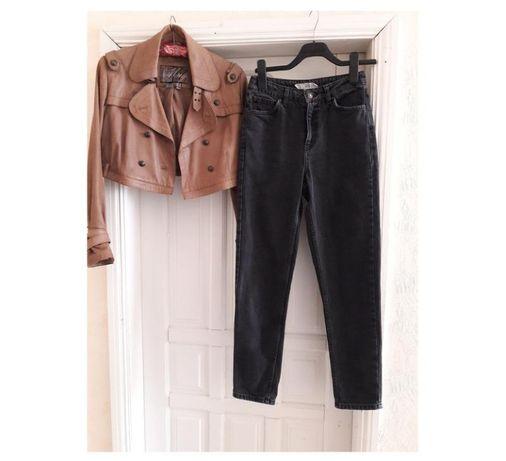 42\8 р качество mom мам базовые джинсы topshop серые