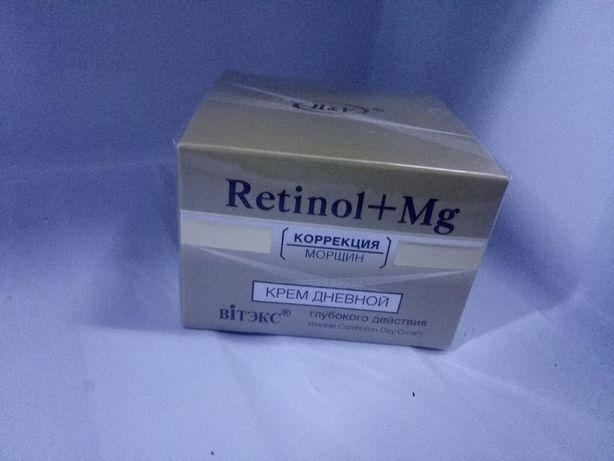 Retinol+Mg коррекция морщин, крем дневной НООВЫЙ