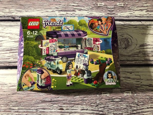 Lego Friends stoisko Emmy