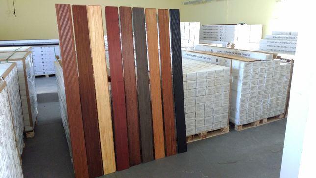 Deski podłogowe z bambusa