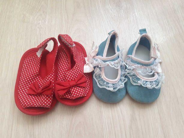 Продам 2 пары обуви на девочку