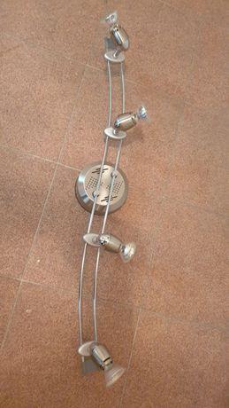 Lampa sufitowa halogenowa z zasilaczem